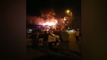 Incendiu devastator in Bucuresti. Doua familii au ramas pe drumuri