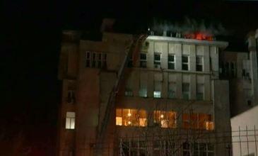 Incendiu puternic intr-un spital din Iasi! Flacarile au provocat pagube uriase! Ce s-a intamplat cu pacientii!