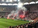 Macel la meciul CSA Steaua - Academia Rapid. Ce se intampla cu suporterii furiosi