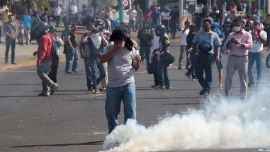 Zece oameni ucisi in Nicaragua, ca urmare a protestelor fata de schimbarea sistemului de pensii!