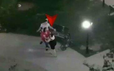 Imagini incredibile surprinse intr-un parc din Capitala! Doua mame s-au luat la bataie chiar sub ochii copiilor!