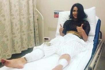 Clipe de cosmar pentru Inna! Scena s-a prabusit cu ea in timpul unui concert la Istanbul! Cantareata a fost transportata de urgenta la spital!