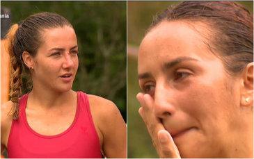 A curs sange la Exatlon! Roxana nu s-a mai putut abtine si a izbucnit in lacrimi cand a vazut-o pe Larisa cu sangele siroindu-i pe fata!