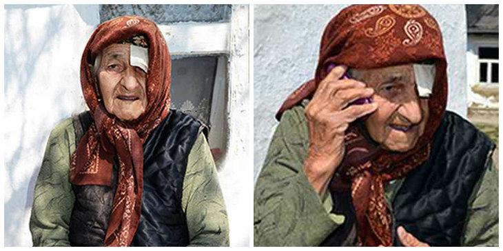 """Aceasta batrana are 129 de ani si spune ca fiecare zi din viata ei este """"o pedeapsa de la Dumnezeu!"""" Povestea de viata a acesteia este sfasietoare. """"Nu am trait o zi fericita de cand ma stiu... """""""