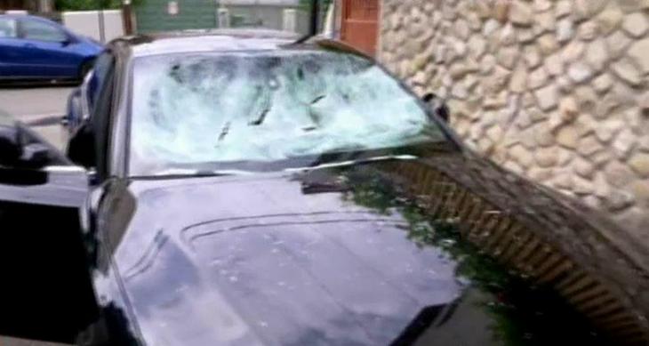 Razbunare crunta! I-a vandalizat masina de mii de euro pentru ca a facut ASTA! imagini care vorbesc de la sine!