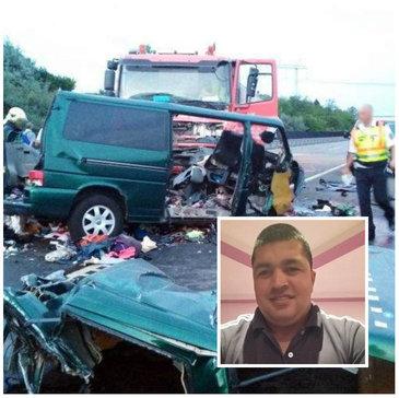 Petru, soferul care a provocat accidentul cumplit din Ungaria, a actionat ca un psihopat