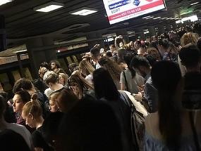 Circulatie ingreunata la metrou pe magistrala Berceni-Pipera din cauza unei urgente medicale!
