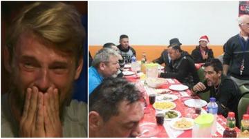 """Oamenii care l-au ajutat pe Ionut cand dormea pe cartoane! Imagini din centrul Caritas din Ibiza, locul unde """"Jaguarul"""" si prietenul lui au primit o farfurie de mancare calda!"""