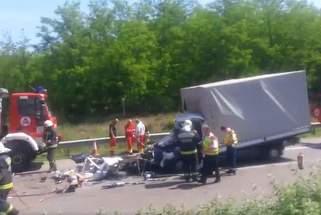 Un nou accident mortal cu romani, pe o autostrada din Ungaria