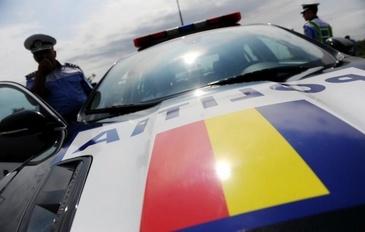 In Giurgiu, ca-n vestul salbatic! Unui barbat i-a fost furata masina, sub amenintarea cutitului, dintr-o benzinarie! Politistii au fost nevoiti sa traga 6 cartuse pentru a-l opri pe fugar!