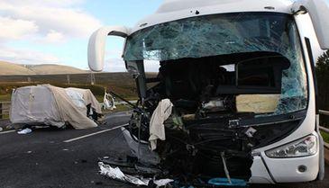 Ultima ora! Un autocar romanesc cu 48 de pasageri la bord, implicat intr-un grav accident in Bulgaria. Autoritatile sunt in alerta