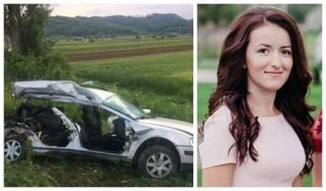 Prima reactie a Sandei Ungur, soferita care si-a condus spre moarte patru prietene, in tragicul accident de la Jibou