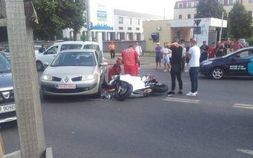 Ce a aparut in Bucuresti, in locul in care ieri a murit un tanar motociclist!
