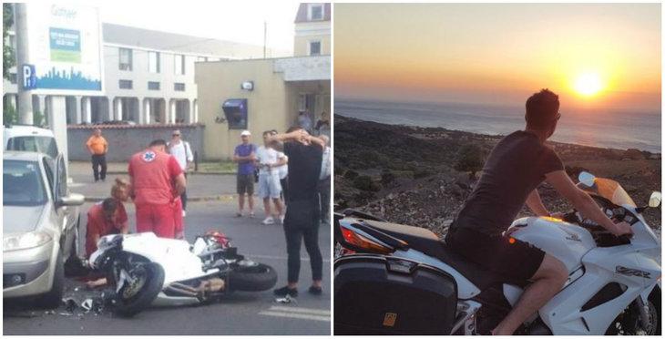 Motociclistul mort in accidentul din Bucuresti era pompier! Colegii de breasla au numai cuvinte de lauda la adresa lui!