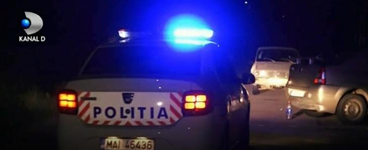 O femeie din Arges a fost impuscata de politisti, in masina! Sase gloante au tras oamenii legii spre vehiculul care circula nebuneste