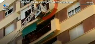 Putea fi o poveste tragica, dar s-a terminat cu aplauze si imbratisari! In orasul Malaga din Spania, o fetita de 9 ani a fost uitata de mama in locuinta