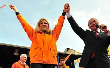 Elena Udrea, audiată la DNA în dosarul privind finanţarea campaniei electorale din 2009 a lui Traian Băsescu