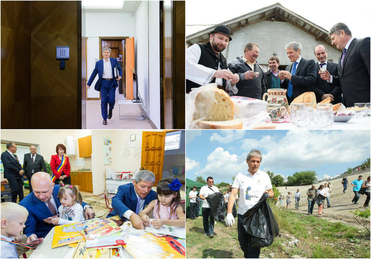 "Dacian Ciolos a publicat un ""bilant in imagini"" al guvernarii: ""Au fost momente dificile, frumoase, tensionate si emotionante"""