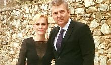 Gabriela Firea, la o nunta in Grecia. Primarul Capitalei a imbracat o rochie neagra