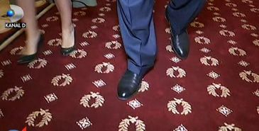 Cat a costat covorul rosu de la intrarea in biroul grupului social-democratilor din Parlament