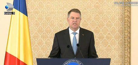 Presedintele Iohannis retrimite Legea ANI la Parlament: E pusa in discutie respectarea angajamentelor asumate de Romania, in calitate de membru UE
