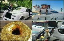 Cum arata viata adolescentilor de bani gata: maşini de lux spălate cu şampanie scumpă, vacanţe exotice, haine de firmă şi dinţi placaţi cu aur şi diamante