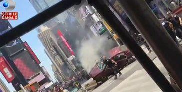 Soferul din Times Square, un fost militar cu cazier judiciar, a lovit 23 de persoane, dintre care o femeie a decedat