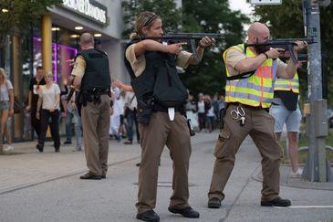 Focuri de arma la o statie de metrou din Munchen. Un roman se afla printre raniti
