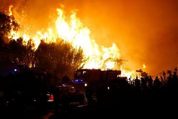 Dezastru in Spania! Sute de oameni, evacuati din cauza unor incendii de vegetatie