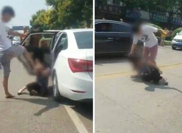 Lovita si umilita in plina strada chiar de fiul amantului! Clipe ingrozitoare pentru o femeie care a calcat stramb!