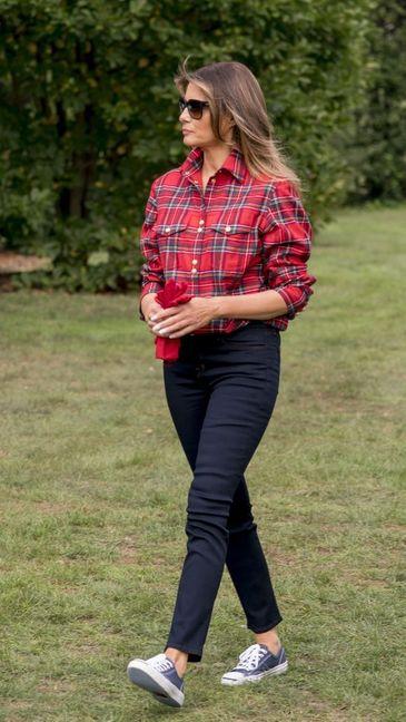 Prima Doamna a SUA asa cum nu ai mai vazut-o: Melania Trump a surprins o lume intreaga