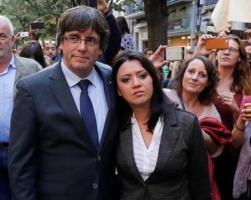 """Momente cumplite pentru Marcela Topor, prima doamna a Cataloniei. """"Nu stiu daca imi voi mai vedea sotul vreodata"""""""