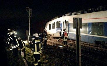 Cinci persoane au fost ranite in urma accidentului feroviar din Germania