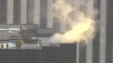 Incendiu la Trump Tower. Doua persoane au fost grav ranite