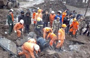 Bilantul alunecarilor de teren din California a crescut: 18 morti. sapte persoane sunt in continuare disparute