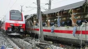 Accident feroviar tragic! Un mort si 22 de raniti in Austria intr-o coliziune intre doua trenuri de calatori