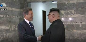 Intalnire-surpriza pentru liderii Coreei de Nord si Coreei de Sud. Care a fost motivul intalnirii