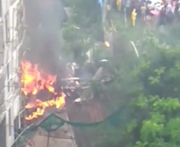 Cinci oameni au murit si alti trei sunt in stare grava la spital, dupa ce un avion de pasageri s-a prabusit in India