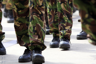 Militar batut cu salbaticie pentru ca a esuat in timpul unui antrenament de pregatire