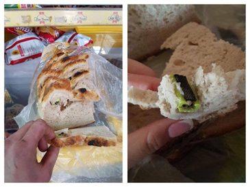 Surpriza neplacuta pentru un barbat din Cluj. El a gasit in paine un cutter cu lama