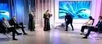 Oana Stancu s-a prabusit in studioul celor de la Antena 3. Imaginile au ajuns pe net. Ce s-a intamplat