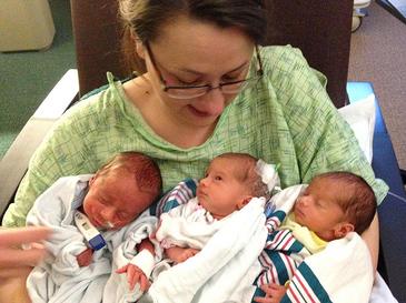 A adus pe lume tripleti, dar a murit la cateva zile de la nastere. Nu a banuit nicio clipa ca ar fi bolnava