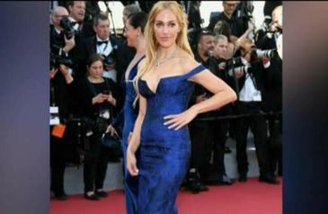 Va e dor de sultana Hurrem? Iata cum a aparut actrita la festivalul de film de la Cannes. E de nerecunoscut