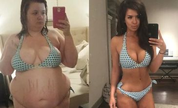 Transformare incredibila a acestei tinere de 28 de ani. Cantarea 128 de kilograme, dar acum arata perfect - Cum a reusit?
