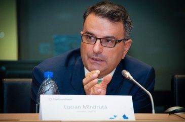 Afacerile lui Lucian Mindruta au fost salvate de agentia sa de PR! Fostul prezentator tv a pierdut o gramada de bani cu agentia de publicitate si cu cea de sondare a opiniei publice!
