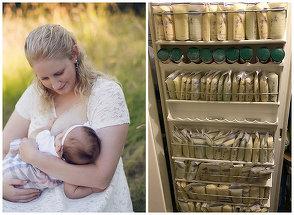 A donat 2365 de litri de lapte matern pentru bebelusii cu parinti homosexuali. Gestul extraordinar al unei tinere mame