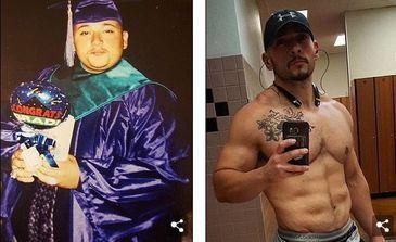 """""""Am vrut sa imi pun capat zilelor"""". Cum a slabit un obez 65 de kilograme dupa moartea fratelui sau"""