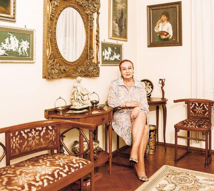 Sanda Taranu, celebra crainica din perioada comunista, locuieste intr-o casa de vis - Cum arata interiorul apartamentului in care sta - E superb