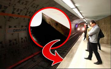 Aici ar fi putut sa se adaposteasca victima de la metrou. Daca facea asta reusea sa-si salveze viata.