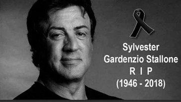 """""""Sylvester Stallone a murit!"""" Stirea falsa care a aparut azi pe retelele de socializare"""